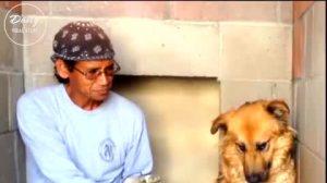 Cachorro arredio e desconfiado ganha uma família amorosa e se transforma