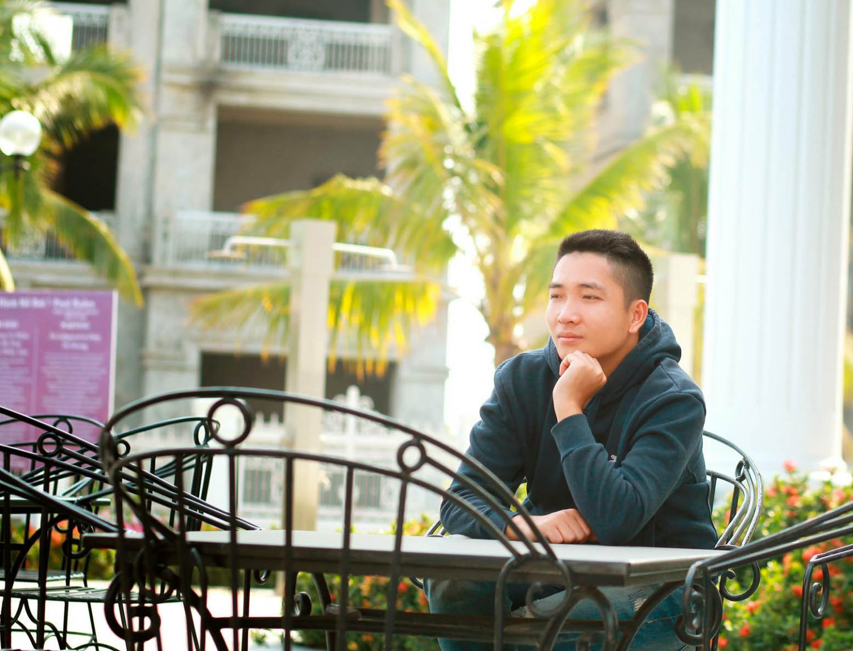 """""""O que eu mais quero é poder ajudar outros jovens que estão sofrendo com vícios e não conseguem achar uma saída"""" (Cortesia de Pham Duc Duy)"""