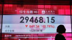 Mercado de ações despenca na China devido a ameaças de tarifas dos EUA