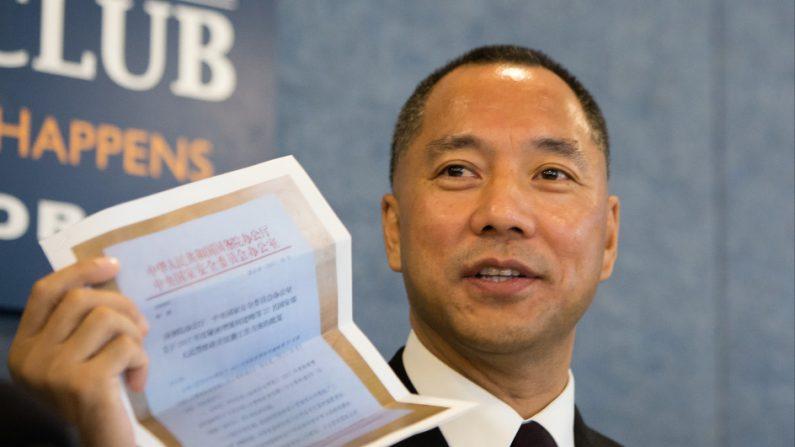 Guo Wengui: regime chinês envia espiões para subverter sistema político e modo de vida nos EUA