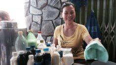 Uma vida milagrosa: vendedora ambulante encontra a felicidade e vence a miséria