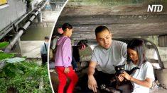 Homem encontra pai e duas filhas vivendo debaixo de uma ponte – então ele diz que 7 palavras que mudam suas vidas