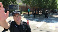 Bomba explode fora da embaixada dos EUA em Pequim (vídeo)
