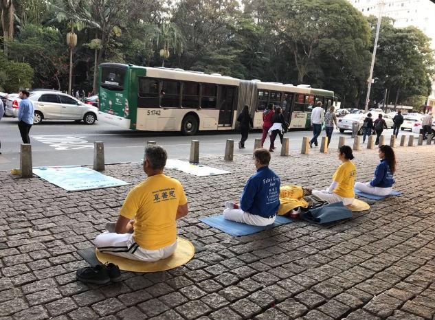 Falun Dafa é uma prática para o aprimoramento físico, energético e espiritual do ser humano (Gilberto Maia)