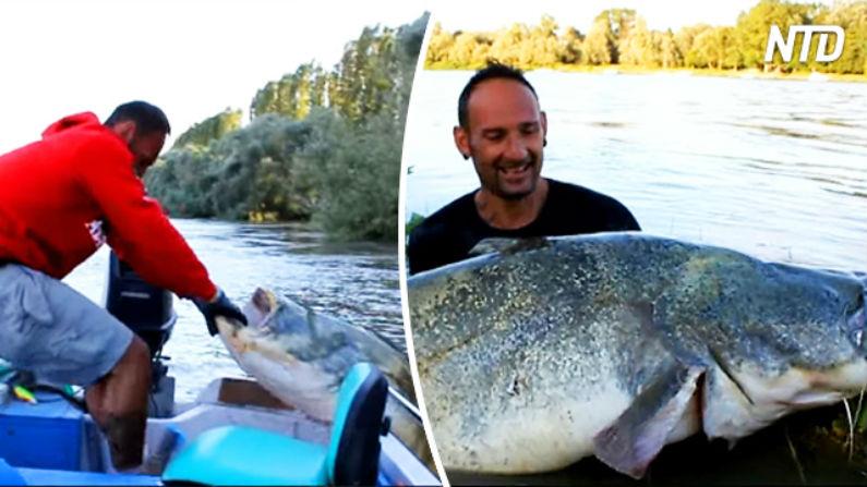 Pescador sente que algo está errado durante a pescaria – observe o que acontece em seguida!