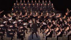 Orquestra inteira toca uma música incrível – mas repare os membros mais de perto, é alucinante