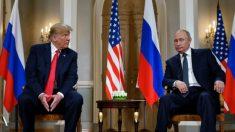 Trump e Putin iniciam reuniões em Helsinque, na Finlândia