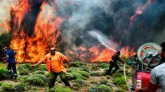 """Fogo mortal da Grécia: um """"maçarico"""" que ninguém poderia deter"""