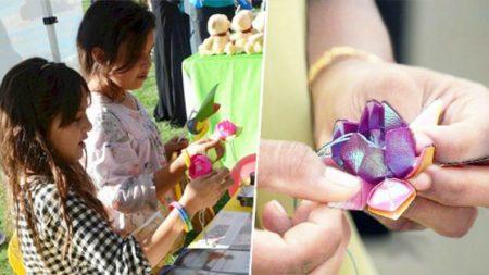 Origâmi de flores de lótus estão florescendo em todo o mundo para espalhar mensagem de esperança