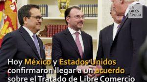 México e EUA chegam a acordo preliminar para revisar Nafta (Vídeo)