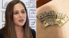 Professora recebe 530 dólares de estranhos em avião para ajudar sua escola