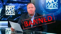 "Alex Jones culpa ""China comunista"" ao ser silenciado pela Apple, Facebook e Google"