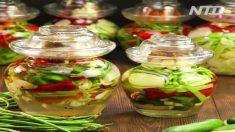 Vegetal em conserva chinês – estilo Sichuan