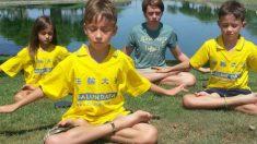Adultos e crianças em todo o mundo estão meditando para se elevar