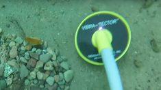 Mergulhador acha iPhone embaixo de cachoeira