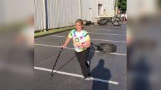 Mulher motivada começa CrossFit como uma forma de entrar em forma, acaba fazendo maravilhas por sua paralisia cerebral