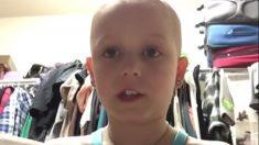 Sobrevivente de leucemia de 11 anos usa sua experiência para apoiar pacientes com câncer infantil