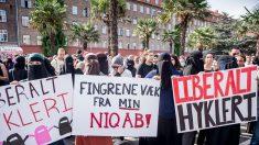 Nova lei que proíbe uso de burcas em público acende debate na Dinamarca