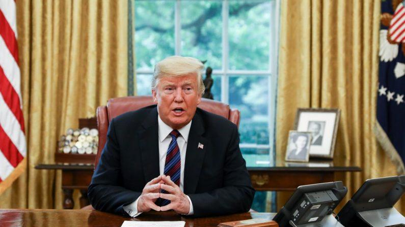 Trump critica Google por mostrar resultados de pesquisa tendenciosos