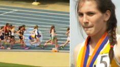 Adolescente diagnosticada com esclerose múltipla continua correndo em provas de atletismo