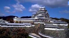 Casal japonês passa quase 19 anos para completar um enorme mini castelo
