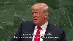 """Na ONU, Trump menciona """"tragédia humana"""" na Venezuela e impõe sanções contra autoridades (Vídeo)"""