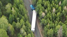 Caminhoneiro perde rota com carga de batata-chips e mesmo depois de andar por dias se recusa a tocar na carga
