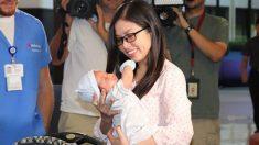 Filho recém nascido e colegas de trabalho salvam mãe que corria risco de vida após o parto