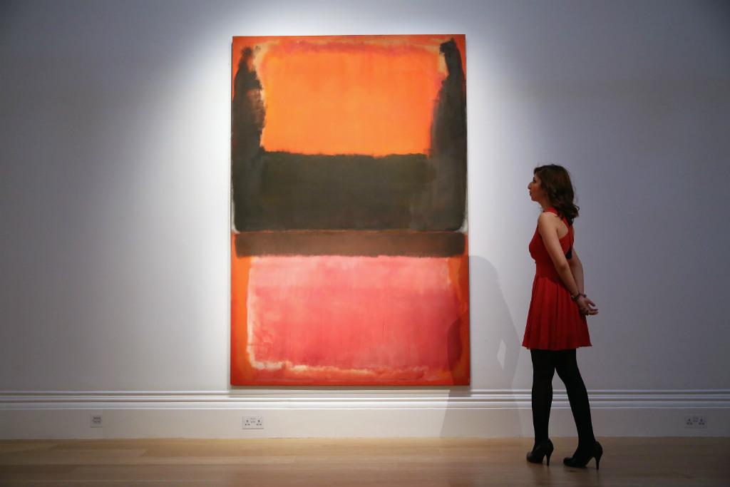 "Pintura de Mark Rothko chamada ""Vermelho, Marrom, Preto e Laranja"" (Carl Court/Getty Images)"