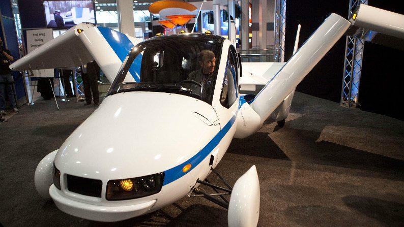 Primeiro automóvel voador do mundo começará a ser vendido em outubro