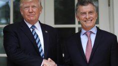 Macri fala com Trump por telefone sobre situação na Argentina e agenda global