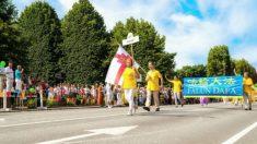 Letônia: Grupo do Falun Gong apresenta tradições chinesas no festival da comunidade