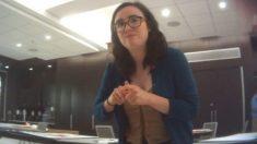Militante socialista exposta em vídeo do Projeto Veritas deixa Departamento de Justiça