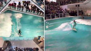 Alemanha lança academia de surf dentro de shopping