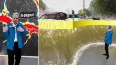 Canal meteorológico simula imagens realistas do furacão Florença através de computação gráfica