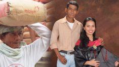 Filha dedica sua formatura na faculdade a seu pai que carregou sacos de cimento por 24 anos