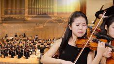 Mãe de violinista de 12 anos é morta pela polícia do regime chinês e ela superou toda dor com sua música transcendental