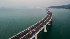 Maior ponte de travessia marítima do mundo é inaugurada na China