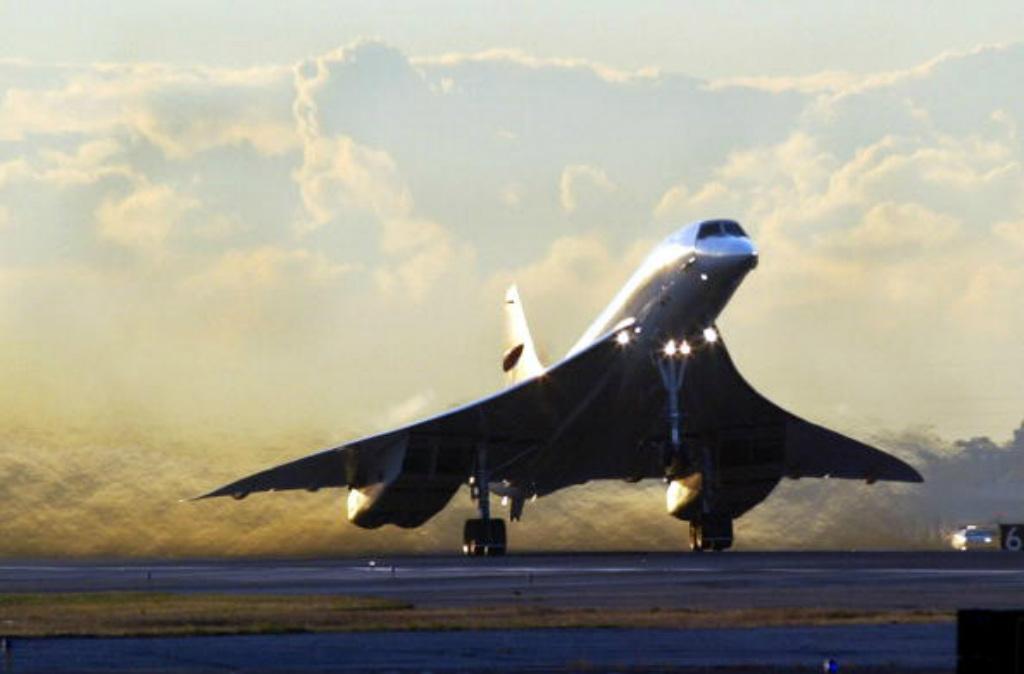 Nova Iorque: Concorde (Timothy A. Clary/AFP/Getty Images)