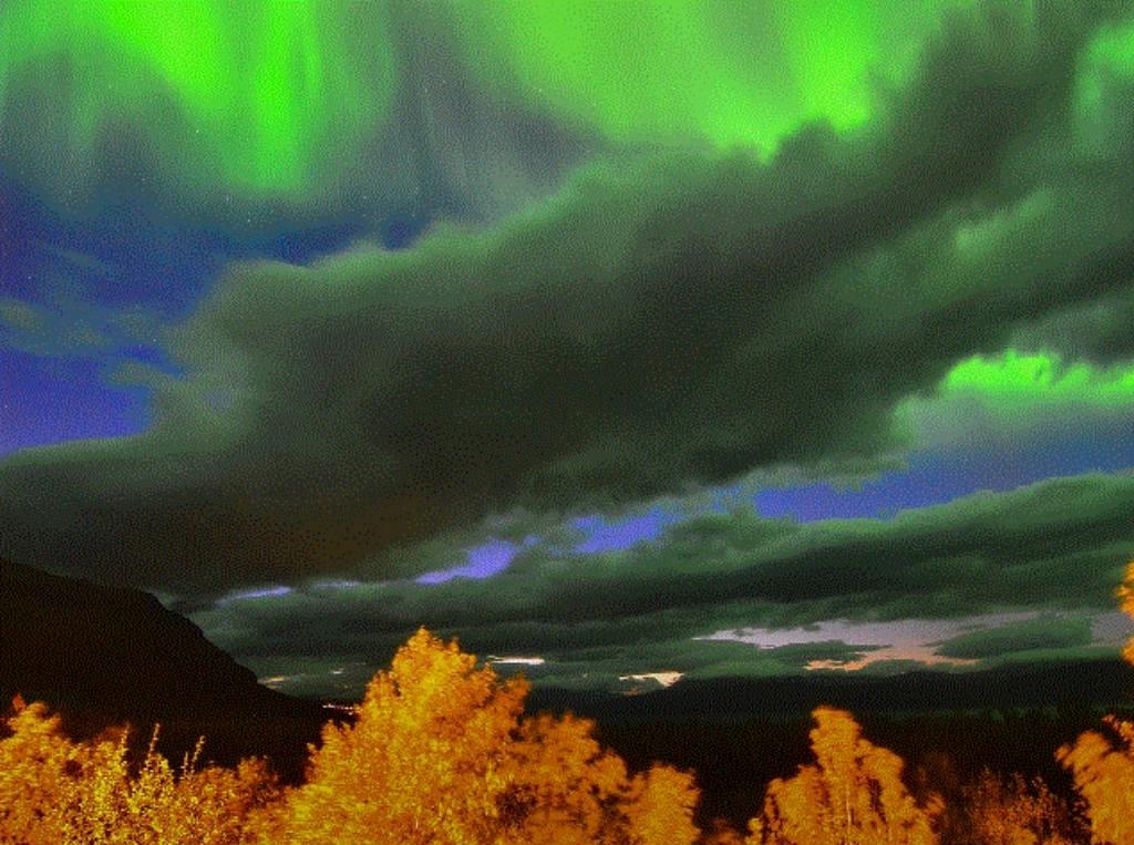 Aurora Boreal fotografada por Chad Blakley em 10 de setembro de 2018 no Parque Nacional de Abisko, na Suécia (Galeria Space Weather)