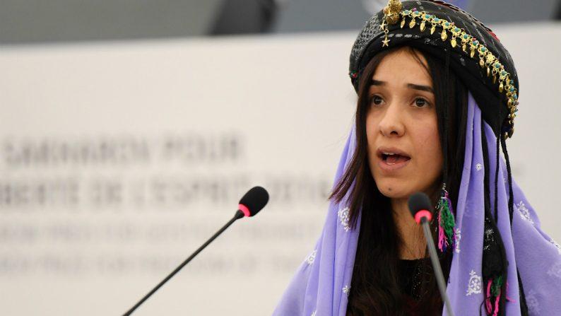 Iraque comemora entrega do Nobel da Paz à yazidi Nadia Murad