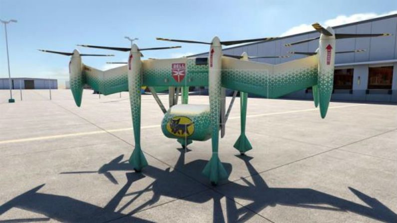 Empresa japonesa projeta veículo voador para negócios de longa distância