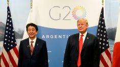 Trump realiza reunião trilateral com Japão e Índia no G20