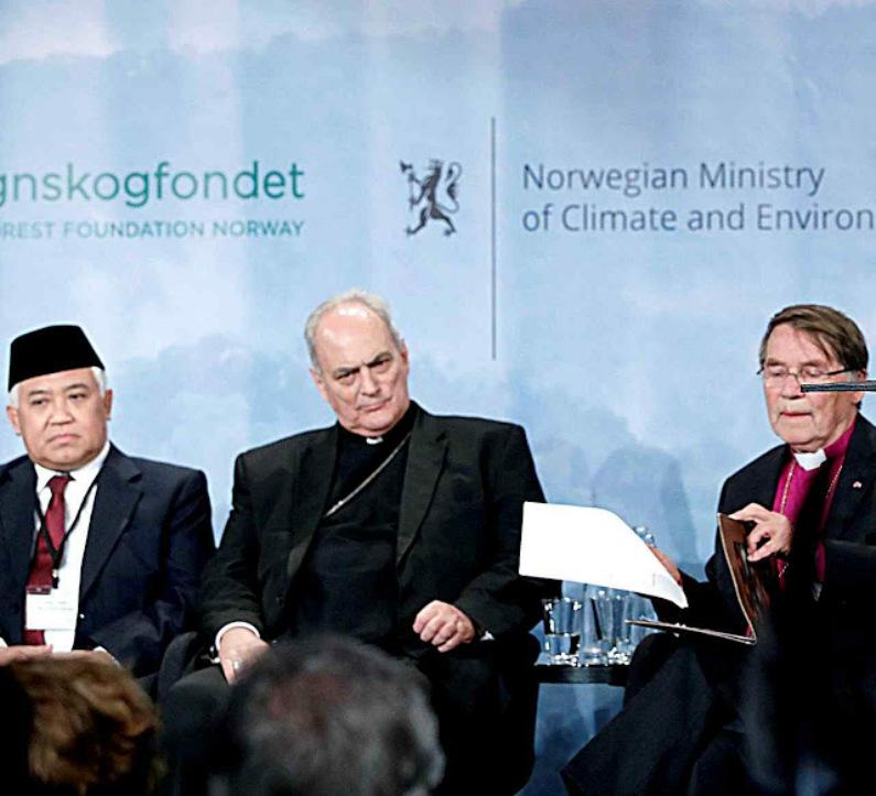"""Mons. Sánchez Sorondo representou o Vaticano na Iniciativa """"inter-religiosa"""" de ambientalistas de esquerda (Blog Ecologia, Clima e Aquecimento)"""