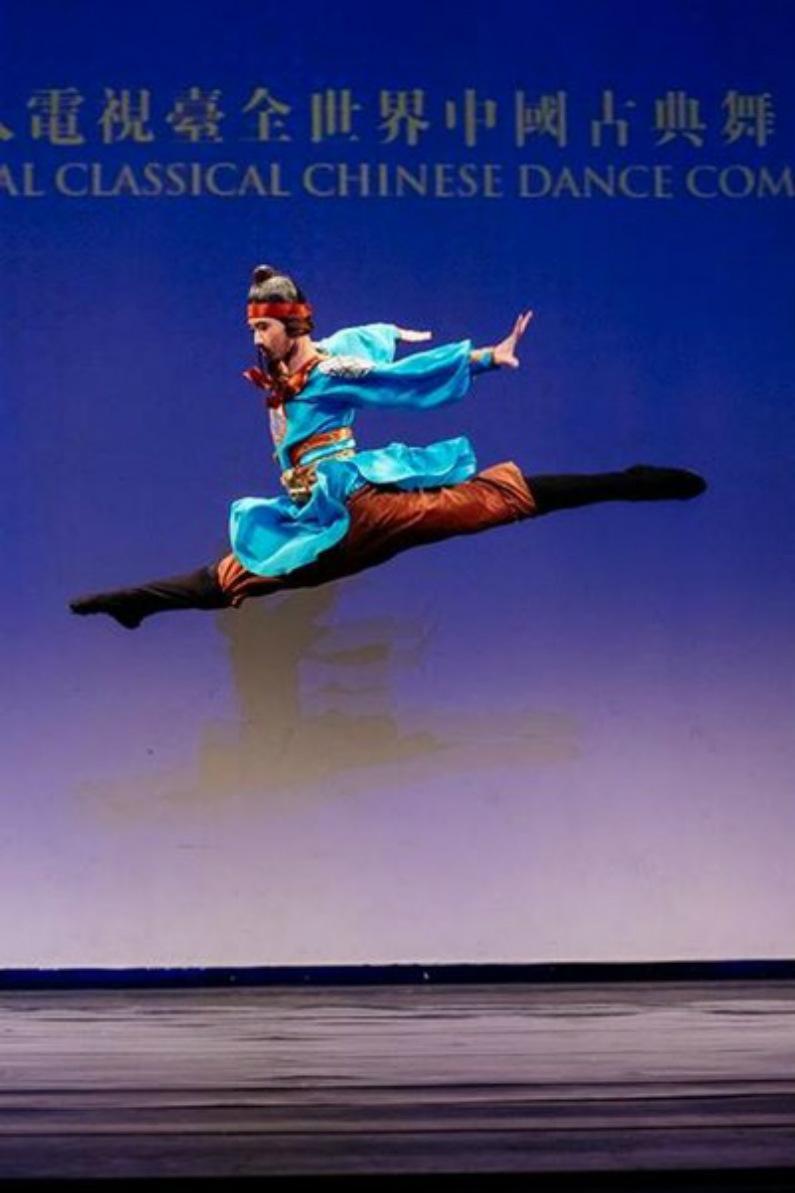 """""""Batalha de Gaixia"""" por outro vencedor do prêmio ouro da divisão masculina júnior, Shaohao Hong da Fei Tian Academy of the Arts (Minghui.org)"""