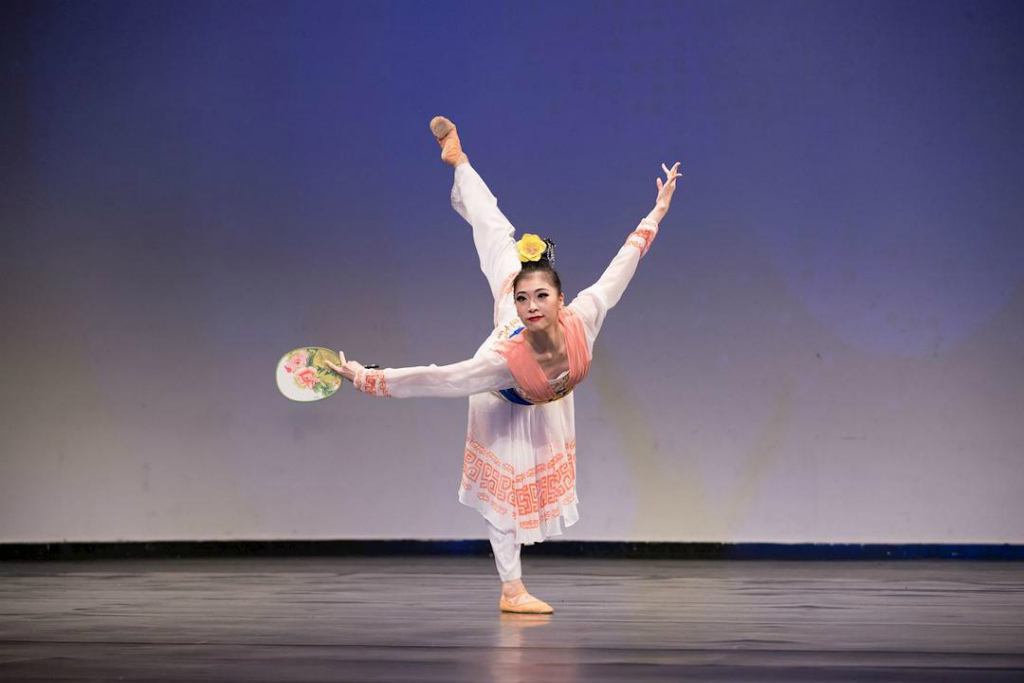 """""""Borda Gramínea no Sul do Rio"""" por Jane Chen, vencedora do prêmio de ouro da divisão feminina adulta (Minghui.org)"""
