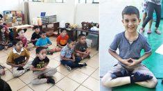 """Alunos de escola mexicana melhoram seu comportamento graças às suas """"aulas de paz"""""""