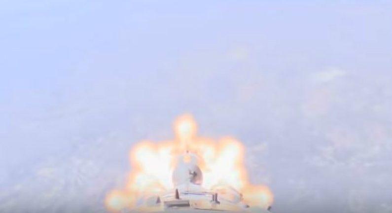 Câmera a bordo da Soyuz registrou momento do acidente em que astronautas escaparam (Vídeo)