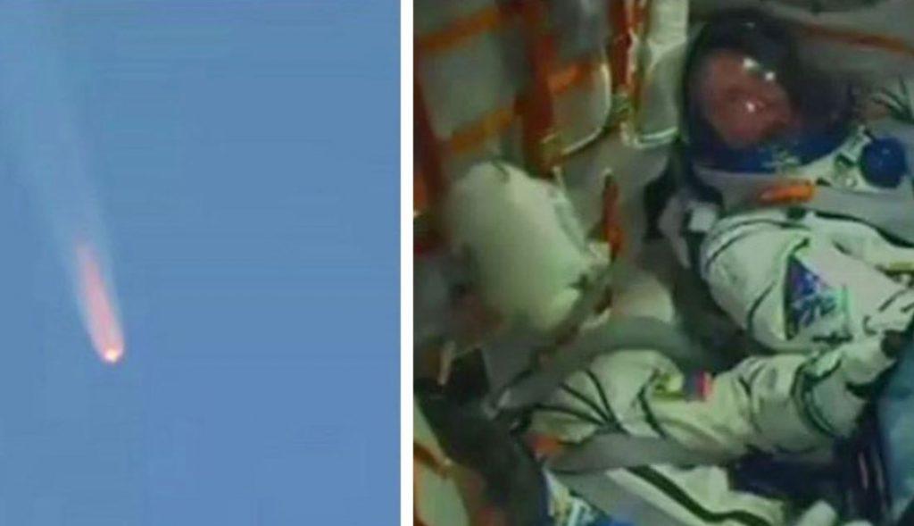 Astronautas transportados pela Soyuz