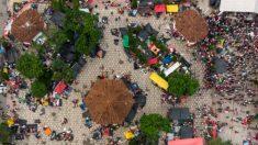 Migrantes deixam 3 toneladas de lixo em abrigo na Cidade do México